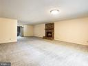Fireplace can be converted back to wood burning - 1122 SPAIN DR, STAFFORD