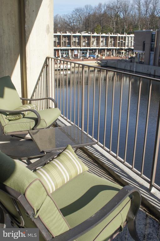 LARGE BALCONY ON THE WATER - 11400 WASHINGTON PLZ W #201, RESTON