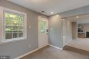 Light and peaceful front entry view - 5975 FIRST LANDING WAY #3, BURKE
