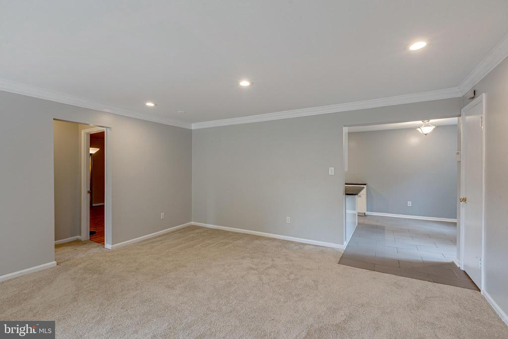 Dining area / flexible use space - 5975 FIRST LANDING WAY #3, BURKE