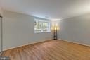 Wood look laminate flooring in both bedrooms - 5975 FIRST LANDING WAY #3, BURKE