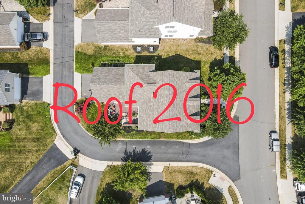 New Roof in 2016 - 23084 PECOS LN, BRAMBLETON