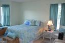 Bedroom 2/master with two windows - 6505 SPRINGWATER CT #7401, FREDERICK