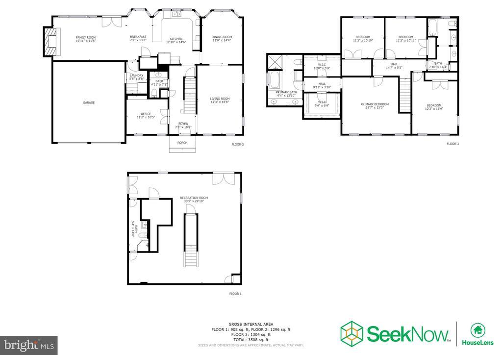 Floorplan - 4253 EXETER DR, DUMFRIES