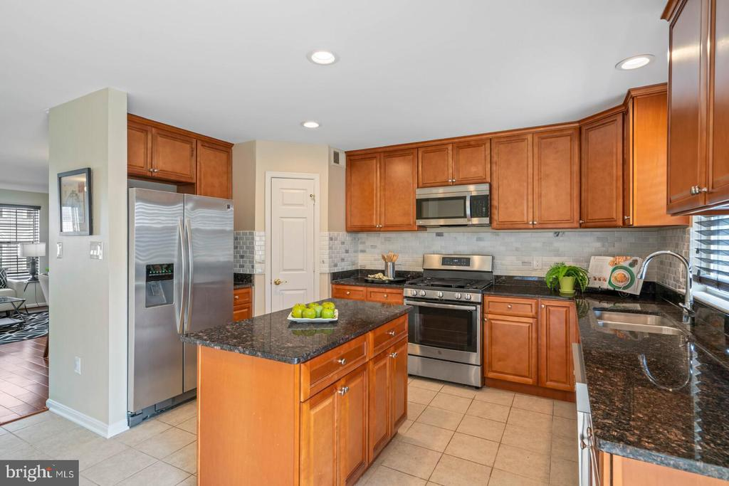Gorgeous Kitchen with Brazilian Countertops - 22916 REGENT TER, STERLING