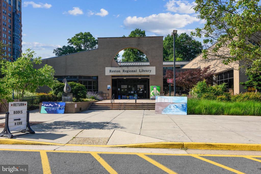 Reston Library - 11776 STRATFORD HOUSE PL #407, RESTON