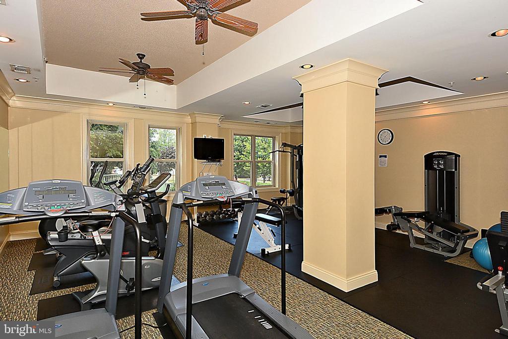 Gym - 11776 STRATFORD HOUSE PL #407, RESTON