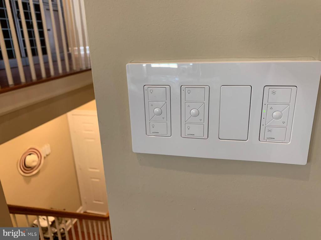 Lutron 3-Button with Raise/Lower Pico Remote - 18192 SHINNIECOCK HILLS PL, LEESBURG