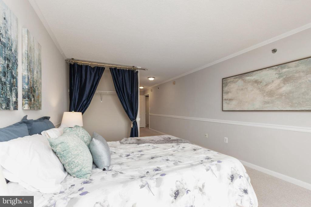 Master bedroom with large hanging closet - 2181 JAMIESON AVE #2010, ALEXANDRIA