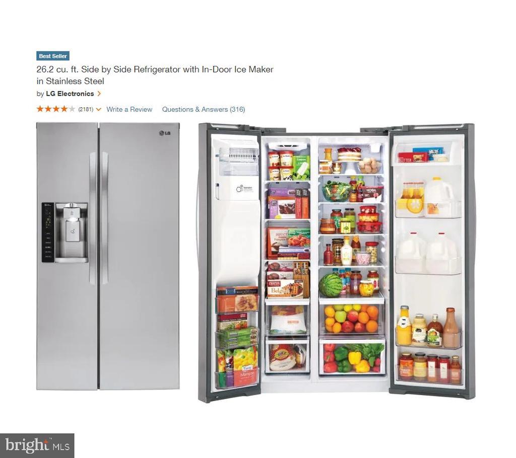 New Refrigerator - 108 HAMILTON RD, STERLING