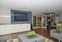Entertainment Room - 1021 N GARFIELD ST #621, ARLINGTON
