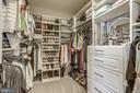 Custom Walk-in Closet - 1021 N GARFIELD ST #621, ARLINGTON