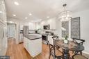 Beautiful Bright White Kitchen - 606 N OWEN ST, ALEXANDRIA