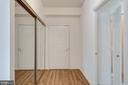 New LVP in the foyer - 19365 CYPRESS RIDGE TER #816, LEESBURG