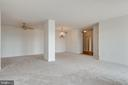 Room for a dining area and a library - 19365 CYPRESS RIDGE TER #816, LEESBURG