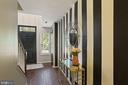 This Foyer is a Total Showstopper! - 6342 JAMES HARRIS WAY, CENTREVILLE