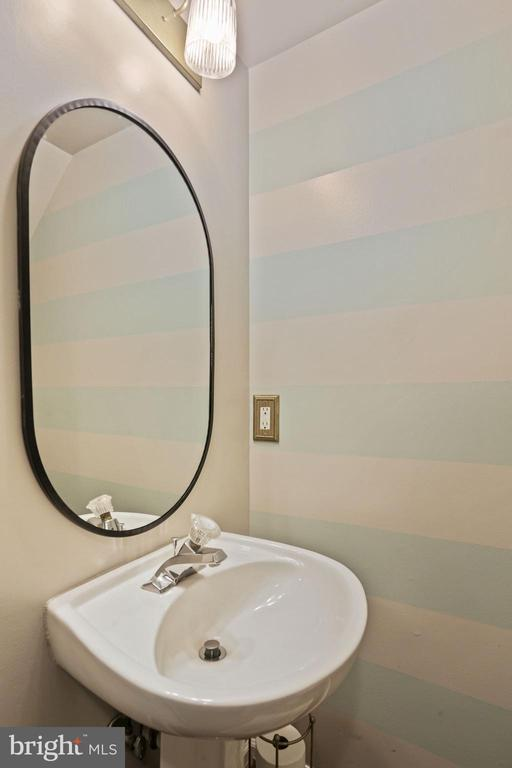 Half Bathroom on Lower Level of the Home! - 6342 JAMES HARRIS WAY, CENTREVILLE