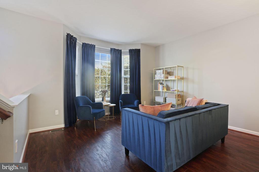 Living Room - So Grand, So Elegant, So Lovely! - 6342 JAMES HARRIS WAY, CENTREVILLE