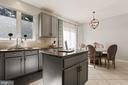 Beautiful Windows Above Sink + Functional Island! - 6342 JAMES HARRIS WAY, CENTREVILLE
