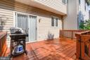 In a Covid World, This Outdoor Space is GOLD! - 6342 JAMES HARRIS WAY, CENTREVILLE