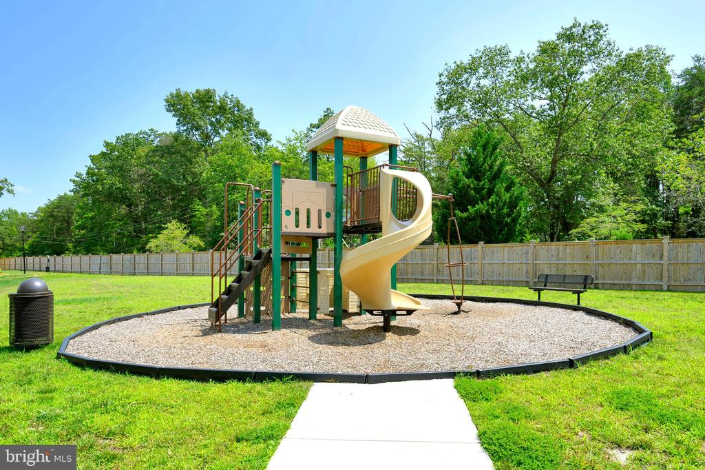 Community tot lot directly behind the home. - 114 THRESHER LN #18, STAFFORD