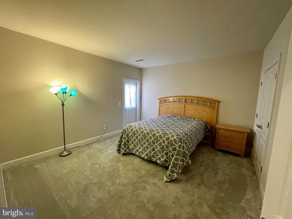 Lower level bedroom with walk up - 23247 CHRISTOPHER THOMAS LN, BRAMBLETON