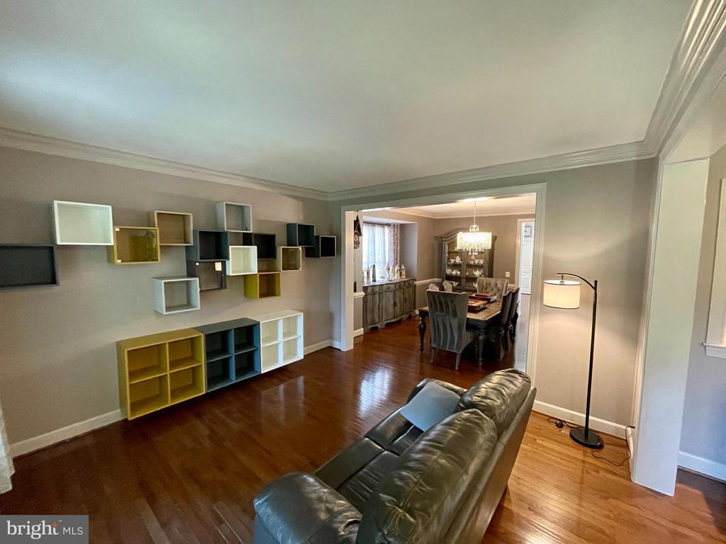 Living room - 23247 CHRISTOPHER THOMAS LN, BRAMBLETON