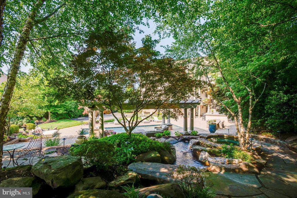 Great View of the Backyard Oasis - 15830 SPYGLASS HILL LOOP, GAINESVILLE