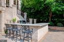 Custom Outdoor Kitchen - 15830 SPYGLASS HILL LOOP, GAINESVILLE