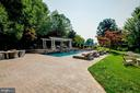 Huge Paver Patio Leading to the Pool - 15830 SPYGLASS HILL LOOP, GAINESVILLE