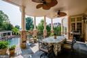 Huge Covered Slate Patio off the Kitchen - 15830 SPYGLASS HILL LOOP, GAINESVILLE