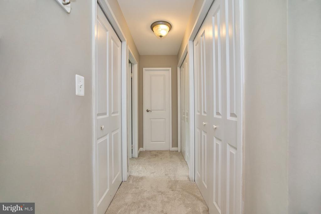 Hall to the Bedroom and Bathroom - 10570 MAIN ST #517, FAIRFAX