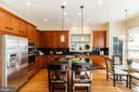 Bright Updated Kitchen - 7804 ORCHARD GATE CT, BETHESDA