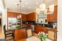 Updated Kitchen w/ Breakfast Area - 7804 ORCHARD GATE CT, BETHESDA