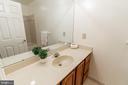 Lower Level Full Bath - 7804 ORCHARD GATE CT, BETHESDA