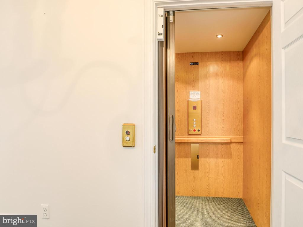 Three story elevator. Handicapped accessible. - 19185 EBENEZER CHURCH RD, ROUND HILL