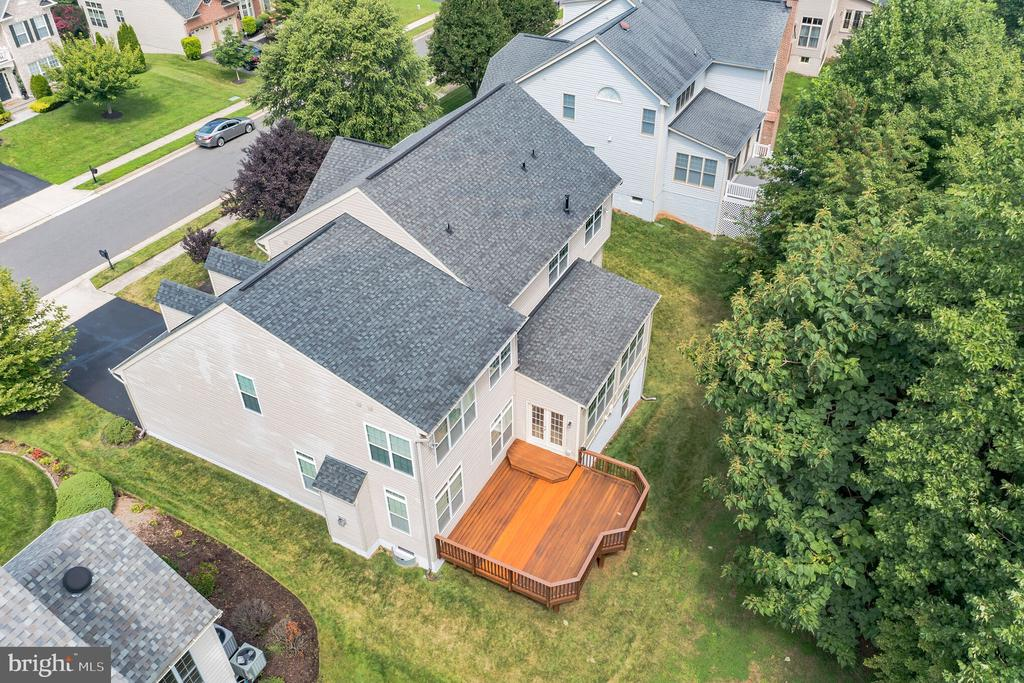 Note the wooded backyard! - 3336 DONDIS CREEK DR, TRIANGLE