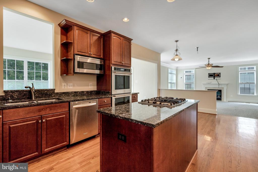 Check out the upgraded cabinetry! - 3336 DONDIS CREEK DR, TRIANGLE