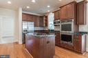 Double Oven and Cooktop. - 3336 DONDIS CREEK DR, TRIANGLE