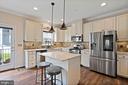 High end kitchen... - 2300 HARMSWORTH DR, DUMFRIES