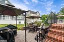 Nice patio... - 2300 HARMSWORTH DR, DUMFRIES