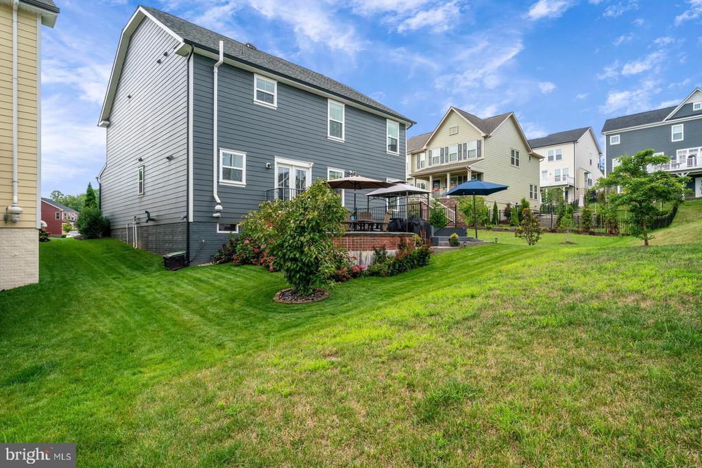 As far as lots go...this one is nice. - 2300 HARMSWORTH DR, DUMFRIES