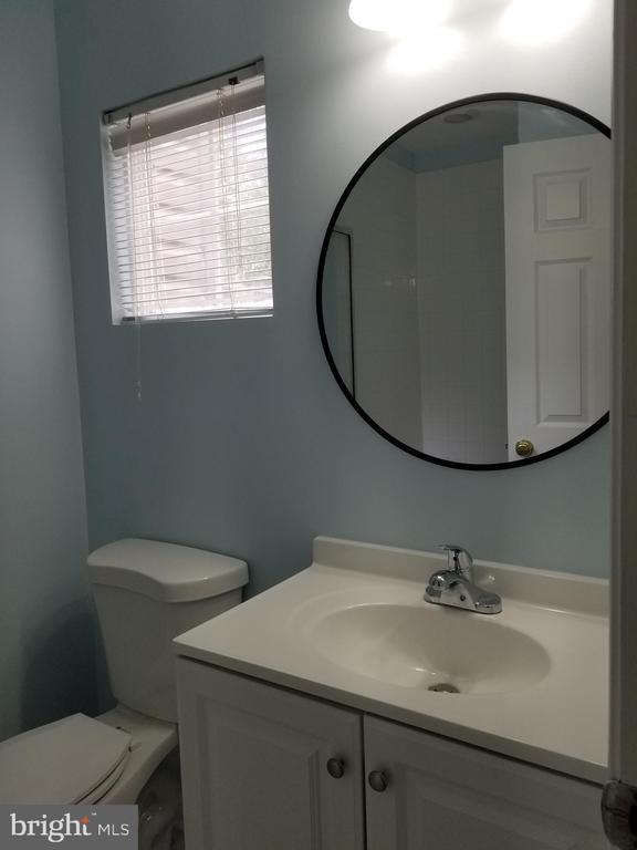 Lower level full bathroom - 23106 BLACKTHORN SQ, STERLING