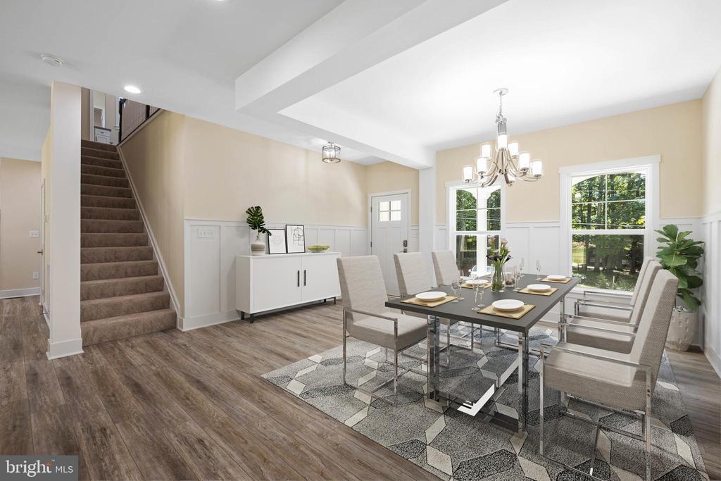 dining or home office! - 418 BIRDIE RD, LOCUST GROVE