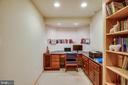 Basement office - 8300 MUSKET RIDGE LN, FREDERICKSBURG