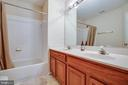 Upper hall bath - 8300 MUSKET RIDGE LN, FREDERICKSBURG