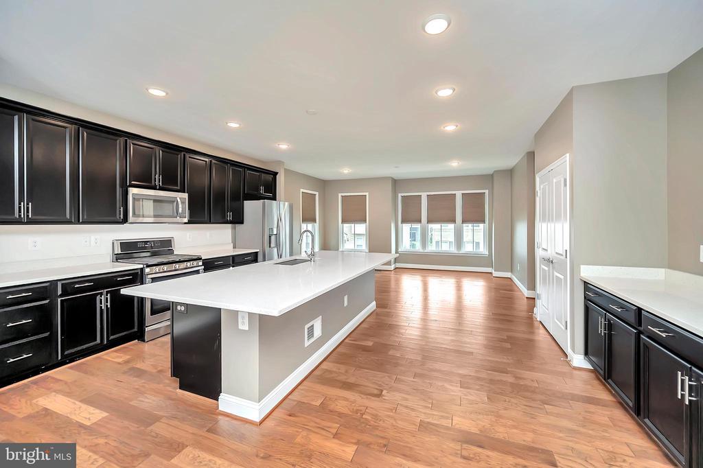 Kitchen - Granite Countertops - Lots of Cabinets - 17359 REDSHANK RD, DUMFRIES
