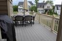 Awesome deck - 17105 SEA SKIFF WAY, DUMFRIES
