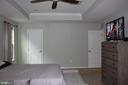 Lots of space in primary bedroom - 17105 SEA SKIFF WAY, DUMFRIES