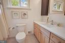 New porcelain tile floor & quartz countertop - 5905 DEWEY DR, ALEXANDRIA